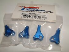 MINI E-REVO 1/16TH GPM FRONT AND REAR ROCKER ARMS BLUE ALUMINIUM ERV027