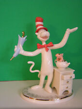 Lenox The Cat in the Hat Figurine New in Box with Coa Dr. Suess