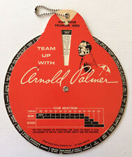 Vintage 1966 Arnold Palmer Golf Guide Dial Your Problem Here Club Selection