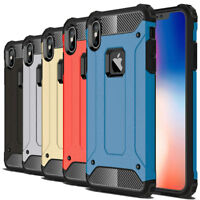 Shockproof Tough Hybrid Bumper Armor Protective Case For iPhone XS XR XS Max