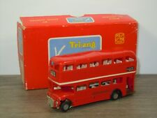 London Double Decker Bus - Triang Minic Motorways M.1545 England in Box *43401