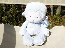 "GUND Baby Monkey Meme Blue 12"" Plush Soft Stuffed Animal 320412 Toy Sewn Eyes"