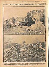 Soldiers Deutsches Heer Battle of Lodz Poland Railway Warsaw Varsovie WWI 1914