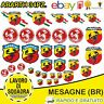 kit 34 Adesivi Abarth Scorpione Assetto Corse Stickers Auto 595 695 124 Fiat Car