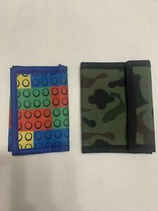 Boy's Lego and Camouflage Wallet