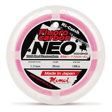 MONOFILO PESCA HI CATCH FLUOROCARBON NEO 0,74 MM MOMOI 60 LB PINK FILO
