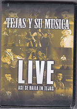*DVD-Tejas y Su Musica/LIVE.Asi Se Baile En Tejas- Tejano Tex Mex...DVD SEALED!
