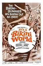 Its A Bikini World Poster 01 Metal Sign A4 12x8 Aluminium