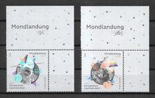 Liechtenstein Mi.Nr. 1940-1941** (2019) postfrisch/50 J. bemannte Mondlandung