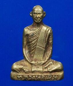THAI AMULET PHRA Statue OLD LP DERM WAT NONGPHO B.E.2482 AMULETS