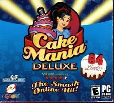 Cake Mania Deluxe (PC-CD, 2007) Win 98SE/ME/2000/XP/Vista/7 - NEW in Flat Pack