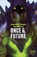 ONCE & FUTURE 1 JETPACK COMICS/FORBIDDEN PLANET LAFUENTE EXCLUSIVE BOOM STUDIOS