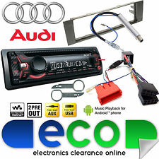 1 DIN Car Stereos & Head Units for Audi