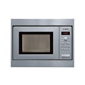 Bosch HMT75M551B 800W 17L Built-in Microwave Oven For 50cm Wide Cabinet Brushed