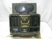 Vintage Zenith Trans-Oceanic Clipper Radio Model No. 8G005 for Parts or Restore