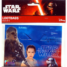 Star Wars The Force Awakens Party Loot Bags - Pack of 8