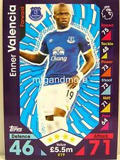 Match Attax 2016/17 Premier League -  U19 Enner Valencia - Update