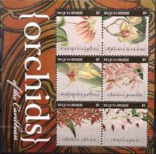 ST VINCENT GRENADINES BEQUIA 2011 691-02 Block 58-9 Orchideen Orchids Blumen MNH