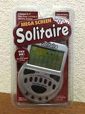 Mega Screen Solitaire By Model 77803 Easy To Read Big Screen