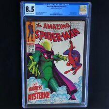 AMAZING SPIDER-MAN #66 (1968) 💥 CGC 8.5 💥 MYSTERIO App & GREEN GOBLIN Cameo