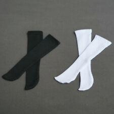 White/Black Socks Stockings for 1/6 1/4 1/3 AOD DF AE AS B&G AI BJD Doll Dollfie