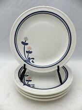 "Pfaltzgraff Windsong pattern - set/lot of 4 Salad plates - 7"" wide - 1992 - EUC"