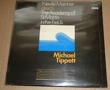 Marriner TIPPETT Little Music/Concerto/Fantasia Concertante  Argo ZRG 680 SEALED