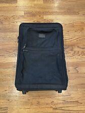 Tumi Two Wheel Alpha Black Carry On Expandable International Travel Luggage