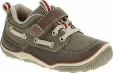 NIB STRIDE RITE Athltic Shoes Mosby Stone Brown 4 M toddler