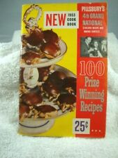 Pillsbury 4th Grand National $100,000 Recipe and Baking Contest Cook Book 1953