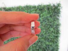 White Gold Men's Wedding Ring 18k WR174 sep *