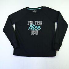 SO Women's Size S Black Nice One Xmas Sweater