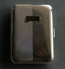 Hansaware Berlin Double Sided Pocket Cigarette Case Made in Germany 845/N 83