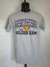 New-Minor Flaw- West Chester Golden Rams Adult Small (S) Gray Shirt by J.America