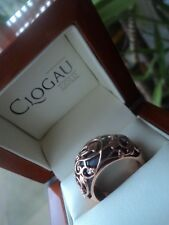 Clogau Welsh 9ct Rose Gold & Oxidised Silver Tree Of Life Ring  -  size N