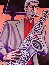 BOB MINTZER PRINT poster L.A. big band yellowjackets cd tenor saxophone bop boy