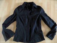 STREET ONE schöne Basic Bluse schwarz Gr. 36 TOP (KB 514)