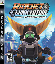 Ratchet & Clank Future: Tools of Destruction Sony Playstation 3 PS3  Game only