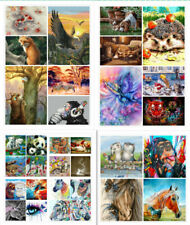 Oil Acrylic Painting Kit Paint By Numbers Beginners Frameless Animals