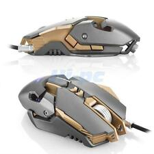 Breathing LED 7 Buttons 3200DPI 1000Hz USB Wired Gaming Mouse Mice forPC Laptop