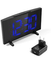 YISSVIC Digital Alarm Clocks for Bedrooms