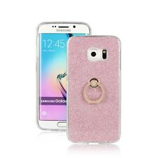 Soft TPU Case Bling Finger Ring Holder Stand Case Cover For Samsung Galaxy