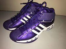 ADIDAS Pro Model 15 Purple  Basketballl Shoes Sneakers Mens US 14 UK 13.5