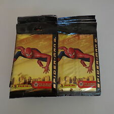2004 Spider-Man 2 Marvel Album Stickers Panini Lot of 31 Packs Official Movie