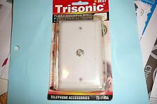 FLUSH MOUNTED WALL PLATE FOR F-81 750HM NEW TRISONIC TS-1149A SFH