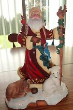 Father Christmas Decorative Statue – Brand New