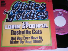 "7"" épicer Spoonful NASHVILLE CATS & did you ever have to Make Up Your Mind # 1963"