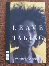 LEAVE TALKING THEATRE LONDON PROGRAMME SCRITP SIGNED BY WINSOME PINNOCK