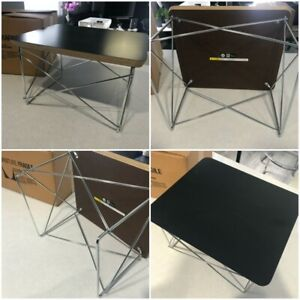 💥Herman Miller  Eames Wire Base Low Table Authentic Brand new Black Top💥