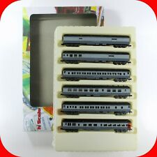 N Scale NYC NEW YORK CENTRAL Heavy Passenger Car 6-Pack -CON-COR 570022.1 Set #2